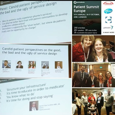 Patient Summit Panel discussion October 2018 eyeforpharma