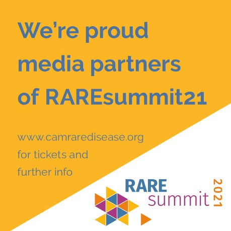 FibroiFlutters / ZebraStrutters are media partners for RARE Summit 21 on 7 October 2021 - a virtual 1-day summit organised by the Cambridge Rare Disease Network. #RAREsummit21