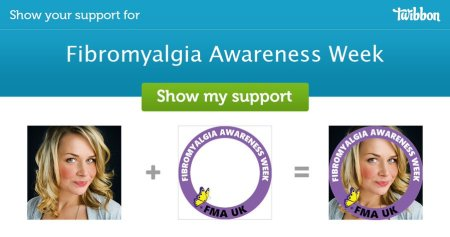 #BecomeFibroAware get a twibbon and support Fibromyalgia Awareness Week 2021