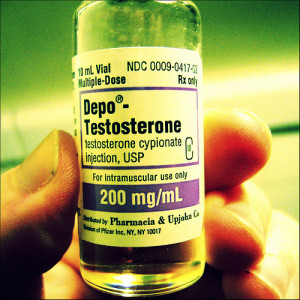 testosterone and fibroids