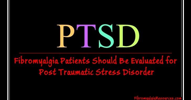 ptsd fibromyalgia
