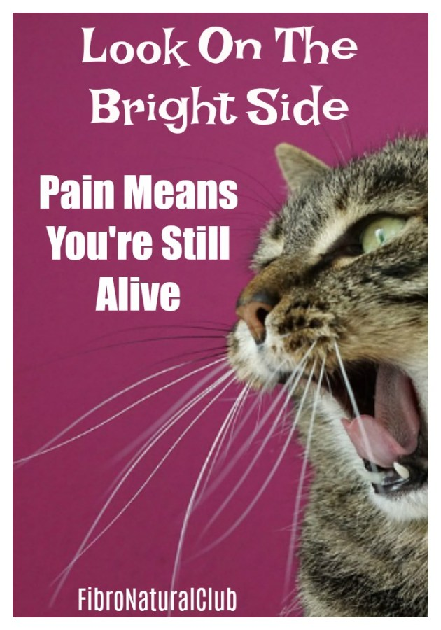 Look on the bright side with fibromyalgia