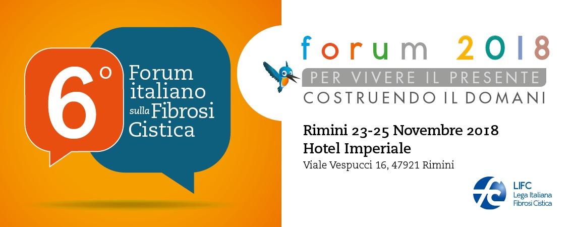 VI° Forum italiano sulla Fibrosi Cistica