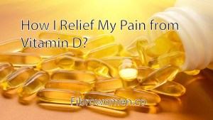 Read more about the article How I Relief My Pain from Vitamin D