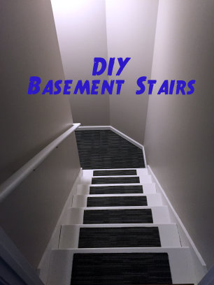 DIY Basement Stairs
