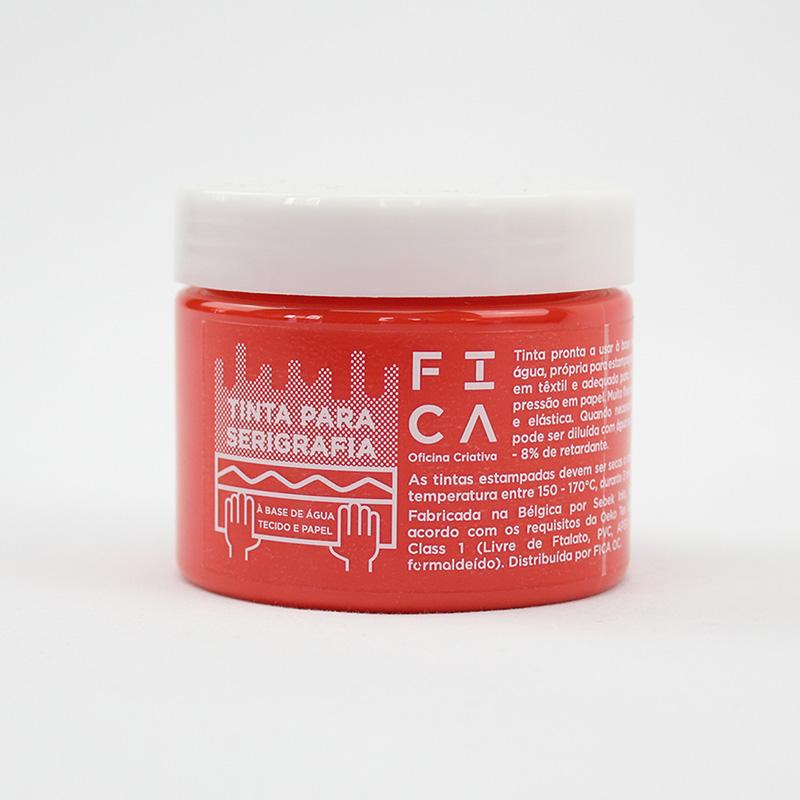 Tintas à base de água para serigrafia - Red