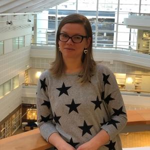 Läntisen SyöpäkeskuksenSuunnittelija Marianne Himberg tyks