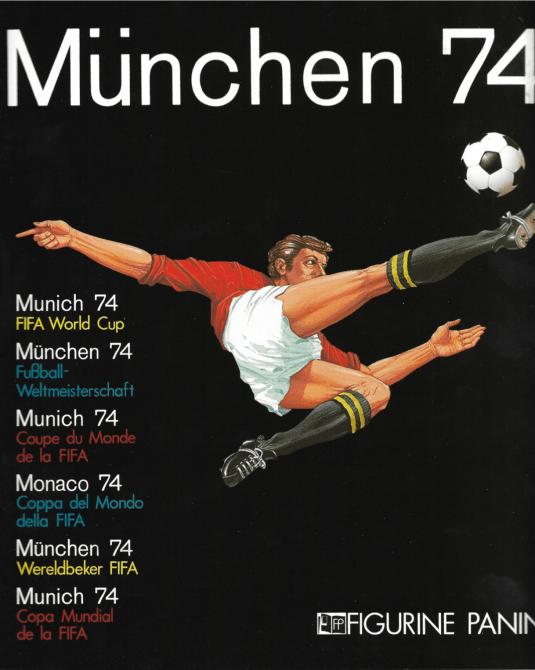 Portada Mundial Alemania Occidental 1974