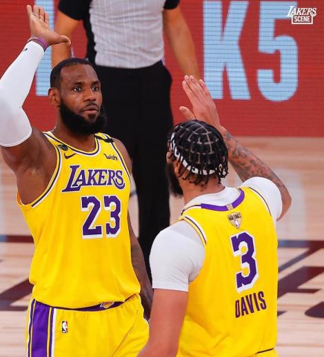 Lakers Finales NBA 2020: Juego 1