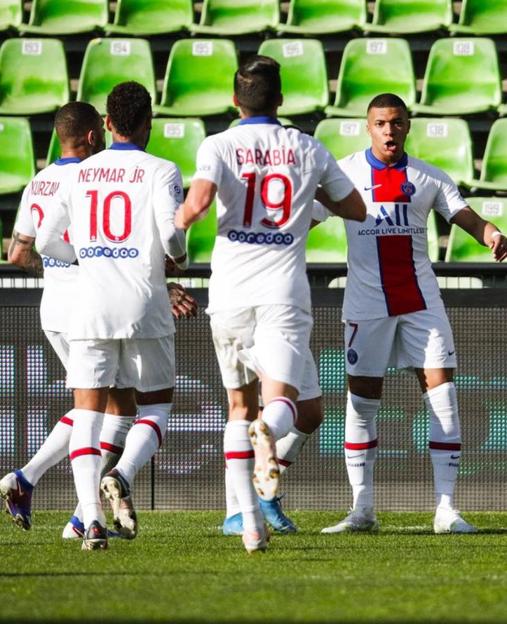 PSG Ligue 1 2020-2021: Jornada 34