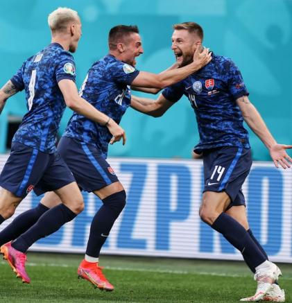 Eslovaquia Eurocopa 2020: Día 4