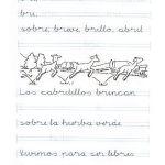 caligrafía ficha de ejercicios