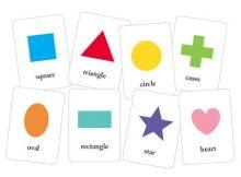las formas en inglés para niños