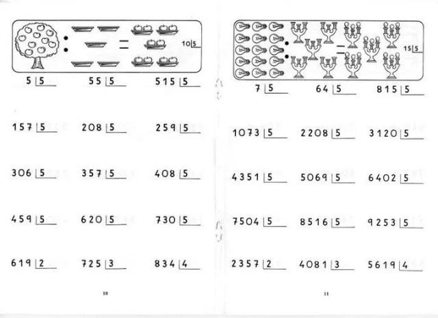 divisiones por 1 cifra
