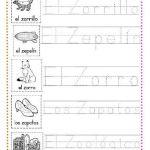 ejercicios caligrafía letra z