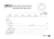 grafomotricidad trazos bucles