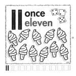 el número 11 en inglés para infantil