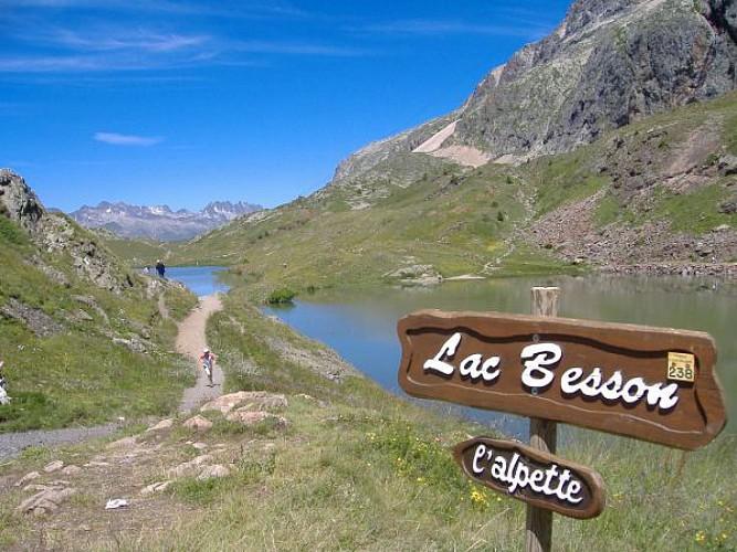 Parcours Marche Le Tour Des Lacs De LAlpe DHuez Huez