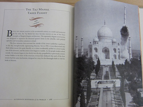 The Taj Mahal Takes Flight
