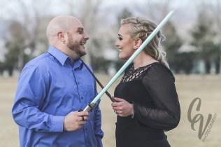 Lindsay & Chris // engagement photos // 2016