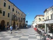 Lazise's town square