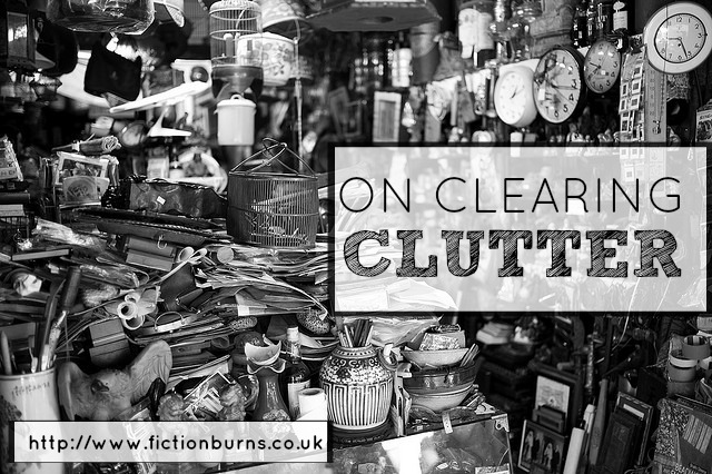 on clearing clutter