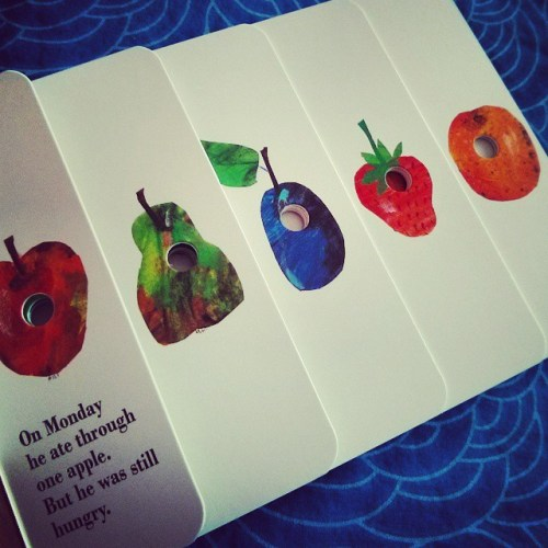 The Very Hungry Caterpillar by Eric Carle is one of my favourite books. I love the idea, the illustrations, the simplicity and above all the attitude-- #yougottadowhatyougottadoFirst in the series of my favourite books. Leave a comment if you like them.#books #fictionhead #bookstagram #mustread #theveryhungrycaterpillar #favouritebook #puffinbooks