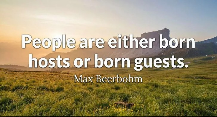 Guests and hosts by max beerbohm