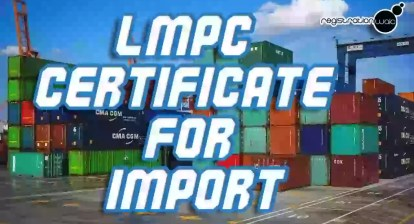 , LMPC Certificate: The most important document that you've never heard of