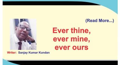 Ever thine. Ever mine. Ever our