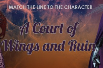 QUIZ: Match the 'A Court of Wings and Ruin' Quote to the Character