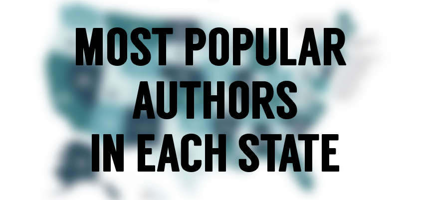 Which Author is Most Popular in Your State?