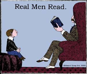 real-men-read-t-shirt