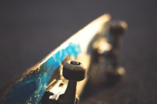 Upturned skateboard | All Growed Up by Kevin Phillips