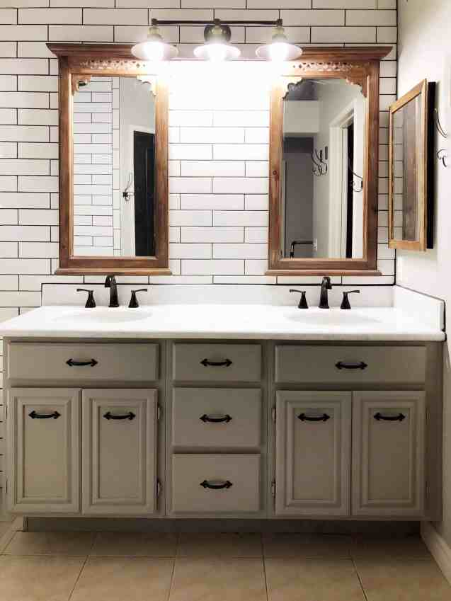 diy farmhouse bathroom