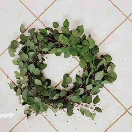 eucalyptus wreath tutorial