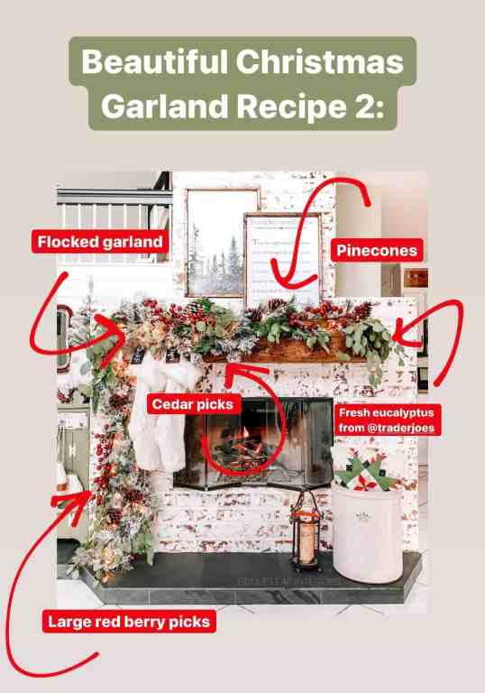the secret to beautiful faux christmas garland every time