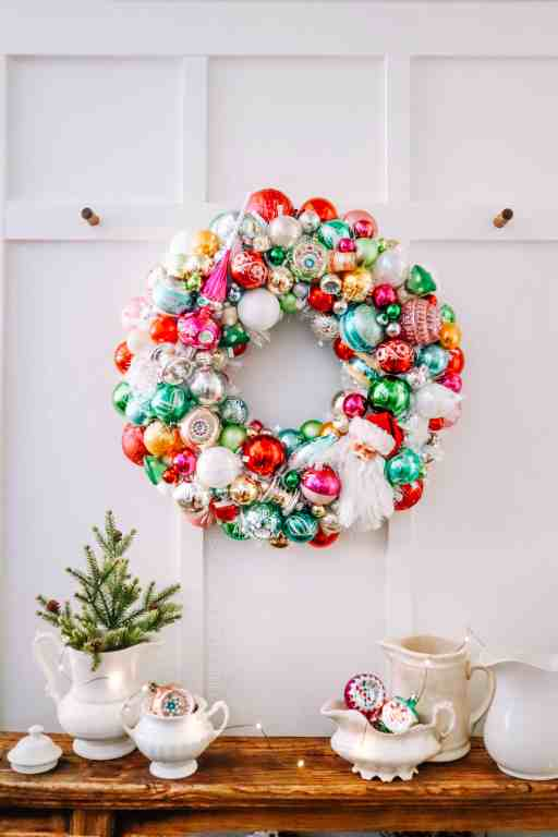 christmas ornament wreath tutorial - best tips and tricks