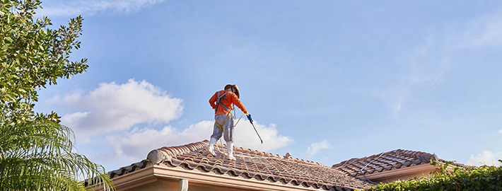 Make Sure Your Roof Cleaner is Covered with Workers' Compensation Code 5551
