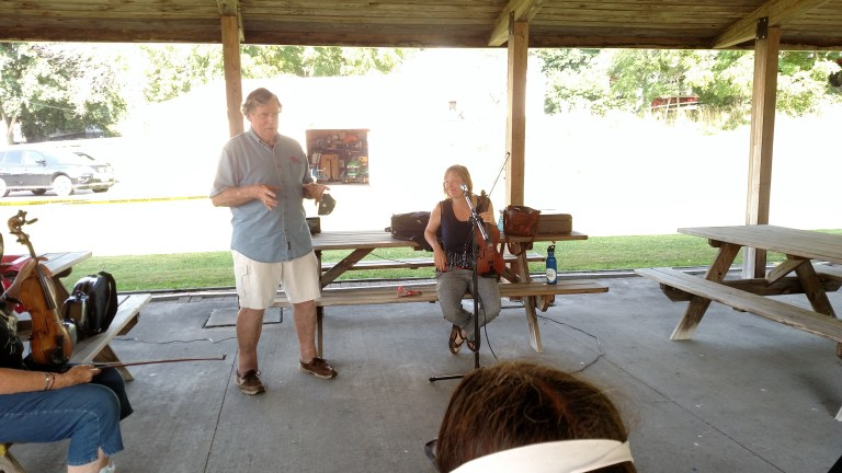 Fiddle/Banjo Workshops with Rosie and Ritchie