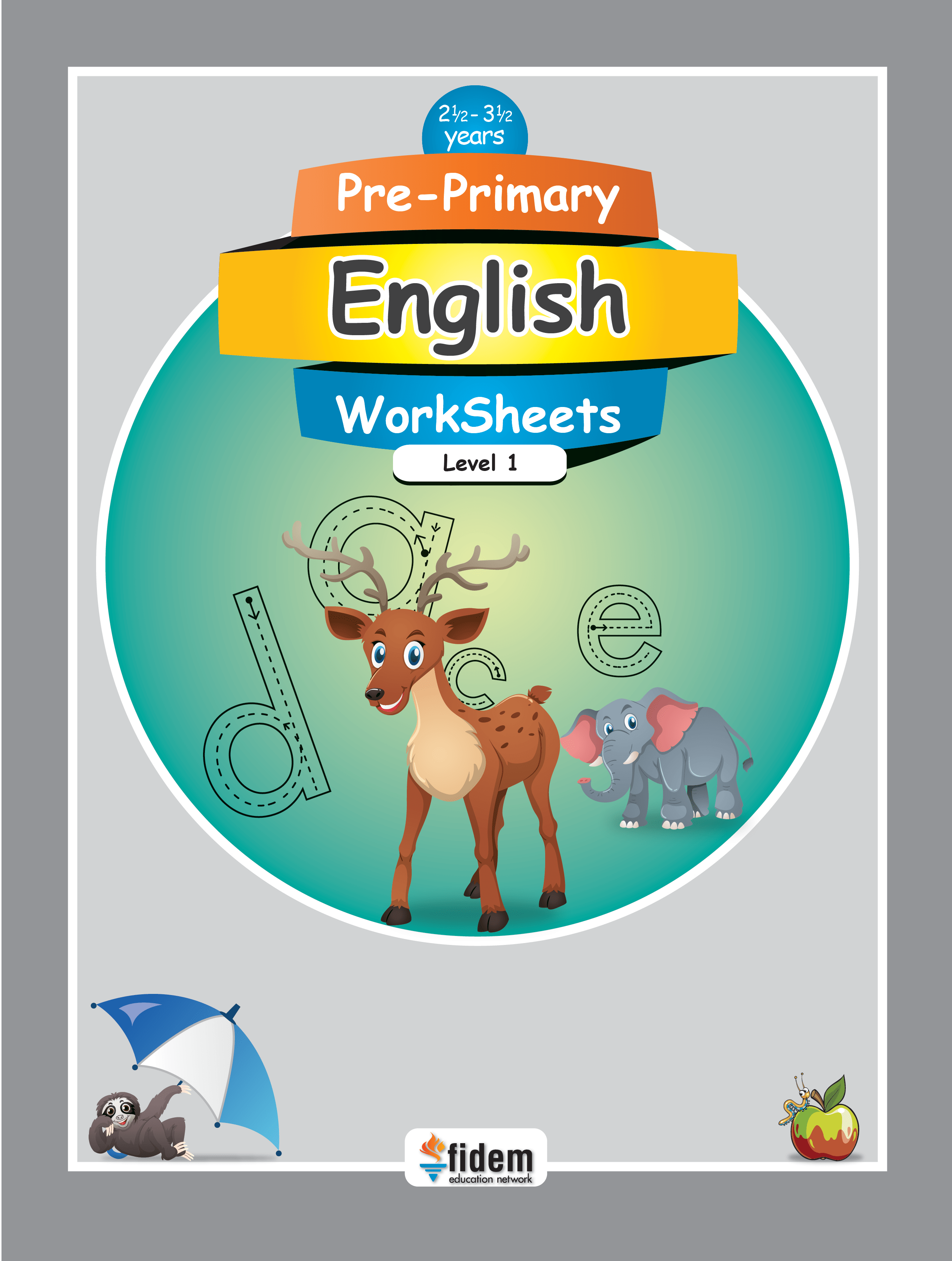 Pre Primary English Worksheets 1 Fidem Education Network