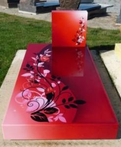monument funéraire personnalisé funeral concept