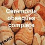 Obsèques civiles cérémonie complète