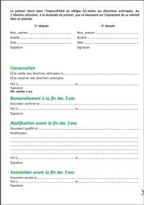directives anticipées page 1
