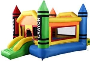 Mini Crayon Bounce House