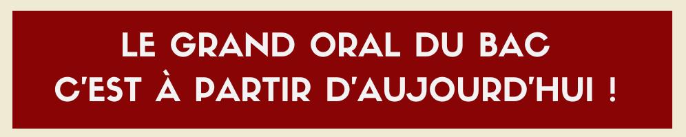 Epreuve du Grand Oral : entre inquiétudes et dysfonctionnements