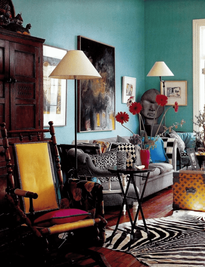Eclectic style decorating