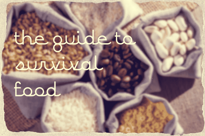 survival food guide