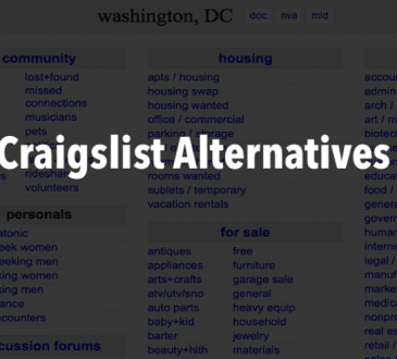 Craigslist Alternative Websites