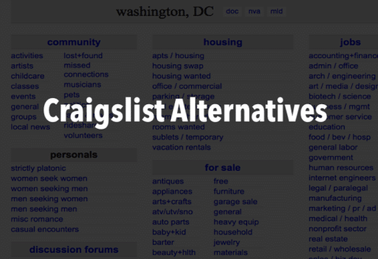 10 best craigslist alternative websites